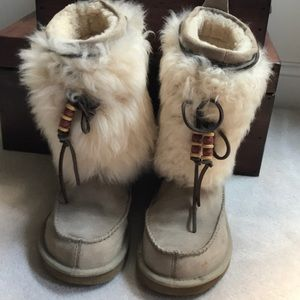 UGG Suede boots.